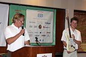 LOS ANGELES - APR 18: Zack Conroy, son Peter Wagner at the 2011 Jack Wagner Golf Classic to benefit