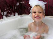 Boy In Bath
