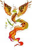 Phoenix vector illustartion