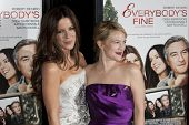 HOLLYWOOD, CA. - NOVEMBER 3: Kate Beckinsale (L) and Drew Barrymore (R attend the AFI Fest premier o