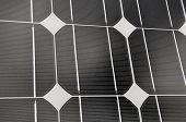 Постер, плакат: Закройте панели солнечных батарей