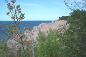 Chimney Bluffs Seascape