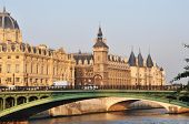 stock photo of matinee  - The Conciergerie in Paris - JPG