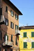 Old italian buildings in Pisa