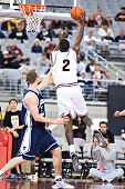 GLENDALE, AZ - DECEMBER 20: Arizona State University center Eric Boateng #2 puts up a shot in the ba
