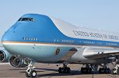 PHOENIX, AZ - MAY 13: President Barack Obama arrives in Air Force One at Phoenix Sky Harbor Airport