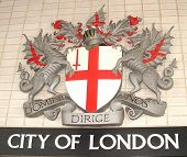 City of London, coat of arms.