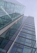 Glass tower.