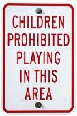 No Playing