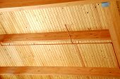 Wood Slate Ceiing
