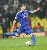 Frank Lampard at the Champions League Final held at Luzhniki Stadium Moscow 21 May 2008 and conteste