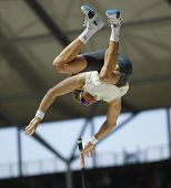 Tim Lobinger Germany competing in the Pole Vault at the Istaf Berlin International Golden League Ath