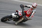 MILAN ITALY JUNE 24 Chris Hodgson GB at the FIM Supermoto World Championship CASTELLETTO DI BRANDUZZ