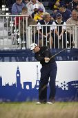 KENT UK JULY 6. England's David Howell competing at the PGA European Tour European Open at the Londo