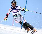 Bormio Italien März 15 Reinfried Herbst Österreich Skifahren auf dem Audi Fis Weltcup-Finale in Bormio ita