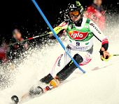 SCHLADMING AUSTRIA JANUARY 22 Reinfried Herbst Austria Competing in the Audi FIS Alpine Ski World Cu