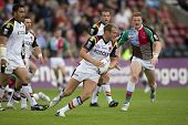Twickenham uk august 03, Michael Platt spielt in engage super League Rugby-League-Spiel zwischen