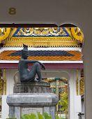Budha mit Zahlen