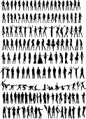 People Silhouettes - Vector