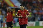 INNSBRUCK - JUNE 10: Andres Iniesta of Spain Football National Team during the match Spain-Russia 4: