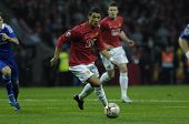 MOSCOW - MAY 21: Cristiano Ronaldo of Manchester United during the UEFA Champions League 2007/08 Fin