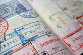 Passport Visa And Stamps