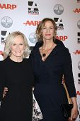 LOS ANGELES - FEB 6:  Glenn Close, Janet McTeer arrives at the AARP's 11th Annual Movies For Gownups