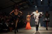 PARIS - JANUARY 25 : on aura tout vu spring summer 2012 fashion show at Paris fashion week January 2