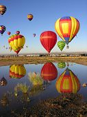 Reflections at Albuquerque Balloon Fiesta