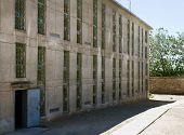 External Building Shot Of A Prison