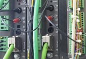 image of plc  - An electronic unit of PLC for industrial automation - JPG