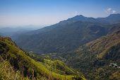 View From Little Adams Peak, Sri Lanka. poster