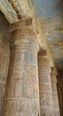 Columns At An Ancient Egyptian Temple
