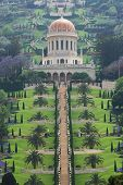 The Bahai Temple And Garden In Haifa