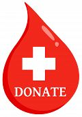Donate First Aid Blood Drop