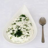 Tzatziki Or Cucumber And Yoghurt Salad
