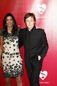 LOS ANGELES, CA - FEB 10: Paul McCartney; Nancy Shevell at the 2012 MusiCares Person of the Year Tri