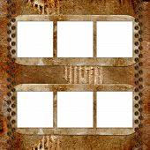 Frameworks For Photo On The Vintage Background.