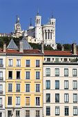 Famous Fourviere Basilica And Building