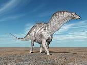 Dinosaur Amargasaurus