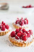 Raspberry Frangipane Trts