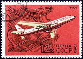 Airplane Tu-104