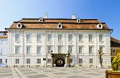 picture of sibiu  - view on Brukenthal palace in Sibiu Transylvania Romania - JPG