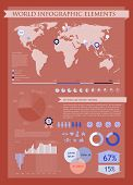 Information Graphics Red