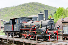 foto of former yugoslavia  - steam locomotive - JPG