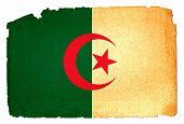 Grungy Flag - Algeria
