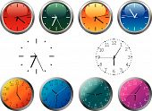 Dial y relojes de oficina
