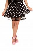 Polka Dot Dres Pink Shoes