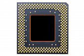 stock photo of cpu  - Computer processor  - JPG