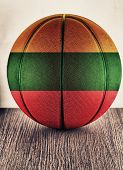 Lithuania Basketball poster